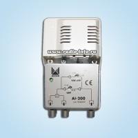 Усилитель ТВ сигнала Alcad AI-200.  Испанская фирма ALCAD - одна из преуспевающих фирм-производителей, популярность...